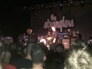 Grist for the Mill: plotting at a Stranglers Concert