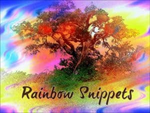Jackie Keswick's Rainbow Snippets | Today's edition: Batman and Robin