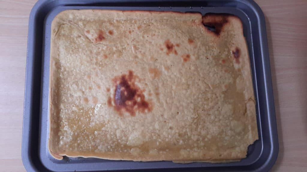 Socca: an alternative pizza base | Jackie Keswick