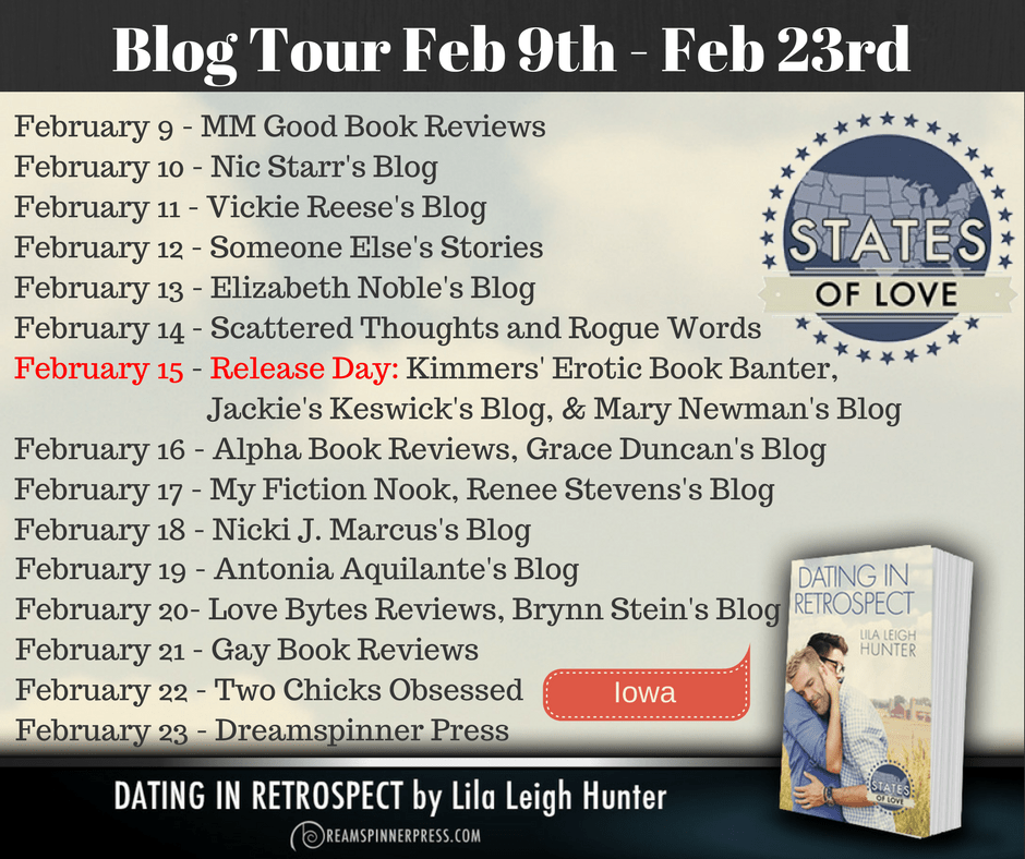 Blog tour stops for Dating in Retrospect by Lila Leigh Hunter
