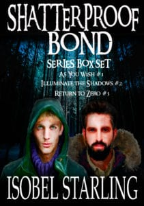 Shatterproof Bond Boxset by Isobel Starling