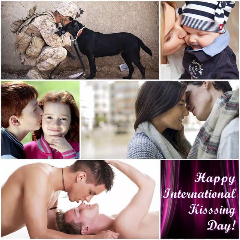 It's International Kissing Day! | Jackie Keswick