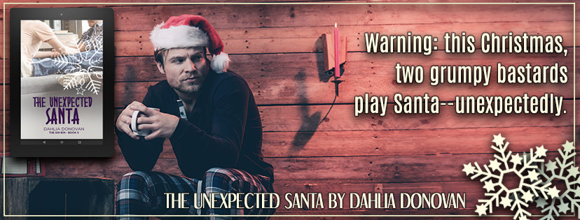 The Unexpected Santa by Dahlia Donovan | Sin Bin Book #5