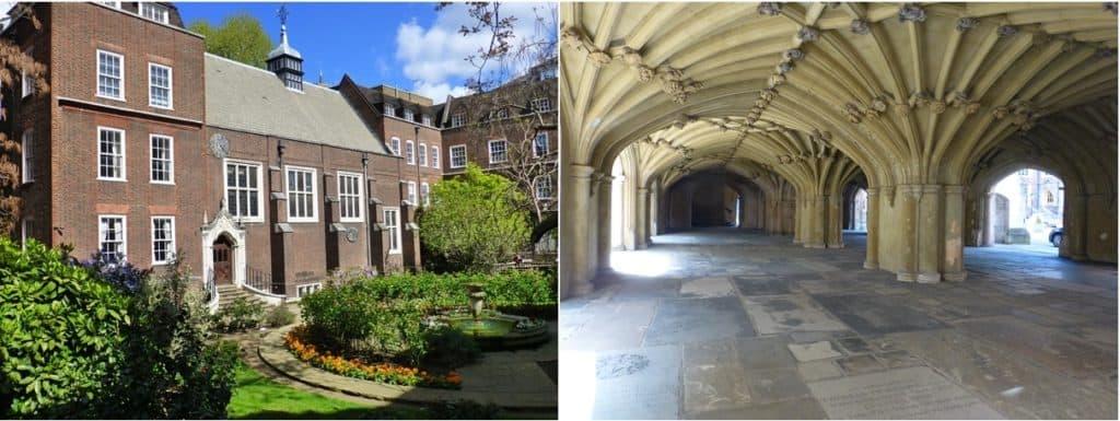 On Location: Aidan's Domain   The Inns of Court   Jackie Keswick
