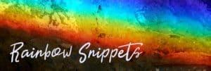Rainbow Snippets | Homework a la Jack