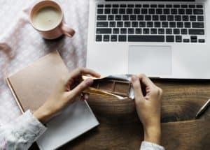 Monday musings: writer at work