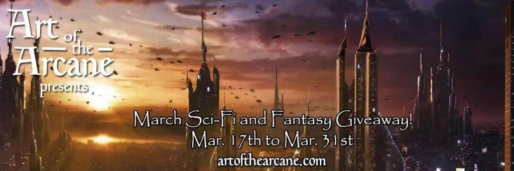 Art of the Arcane March SFF Giveaway