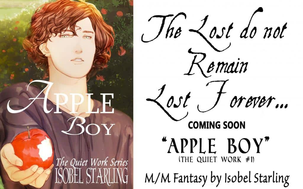 Promo Graphic for Apple Boy by Isobel Starling