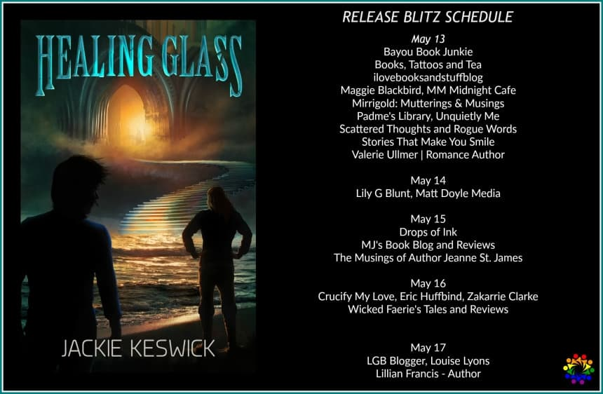 Healing Glass Release Blitz Schedule