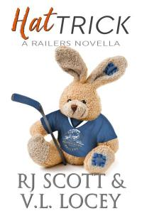 Hat Trick, Harrisburg Railers Book 8 by RJ Scott and V.L. Locey