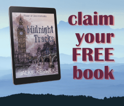 Claim your free book from author Jackie Keswick. Meet Jack Horwood and Gareth Flynn in Midnight Tracks