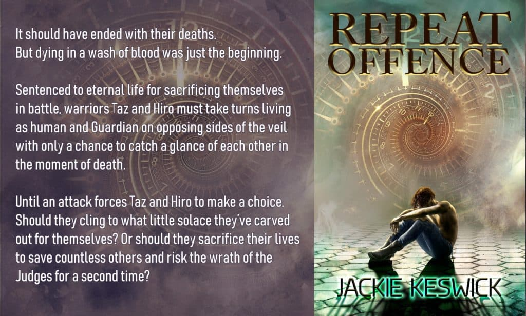 Repeat Offence, a fantasy love story by Jackie Keswick