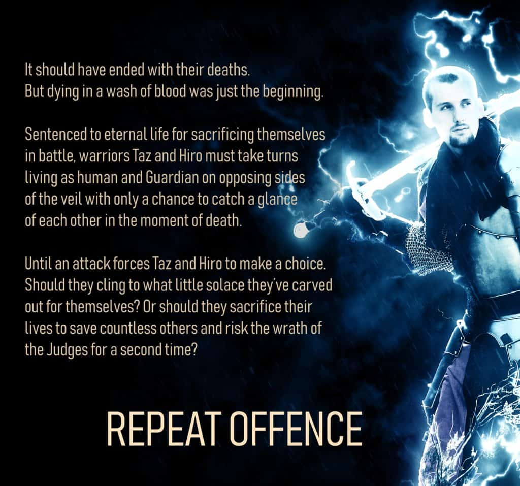 Blurb of Repeat Offence, a fantasy novella by Jackie Keswick